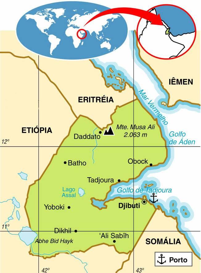 Djibouti | Aspectos Geográficos e Socioeconômicos do Djibouti
