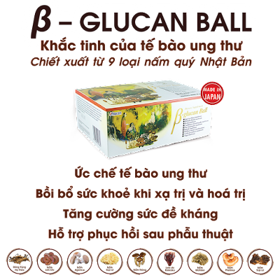beta glucan chua ung thu vom hong