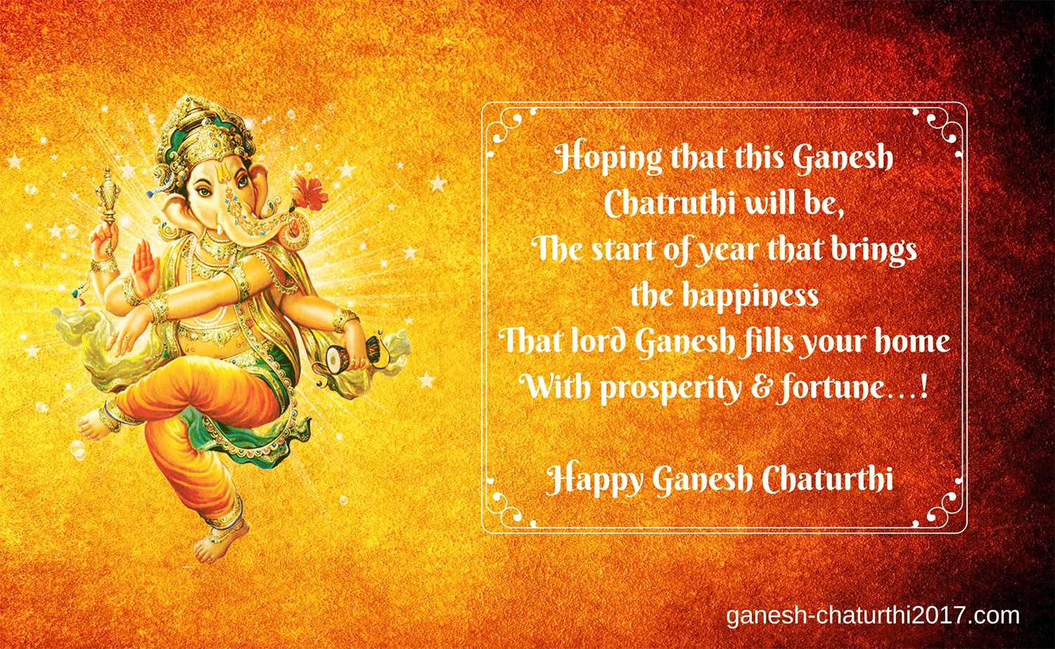 Happy Vinayaka Chaturthi wishes