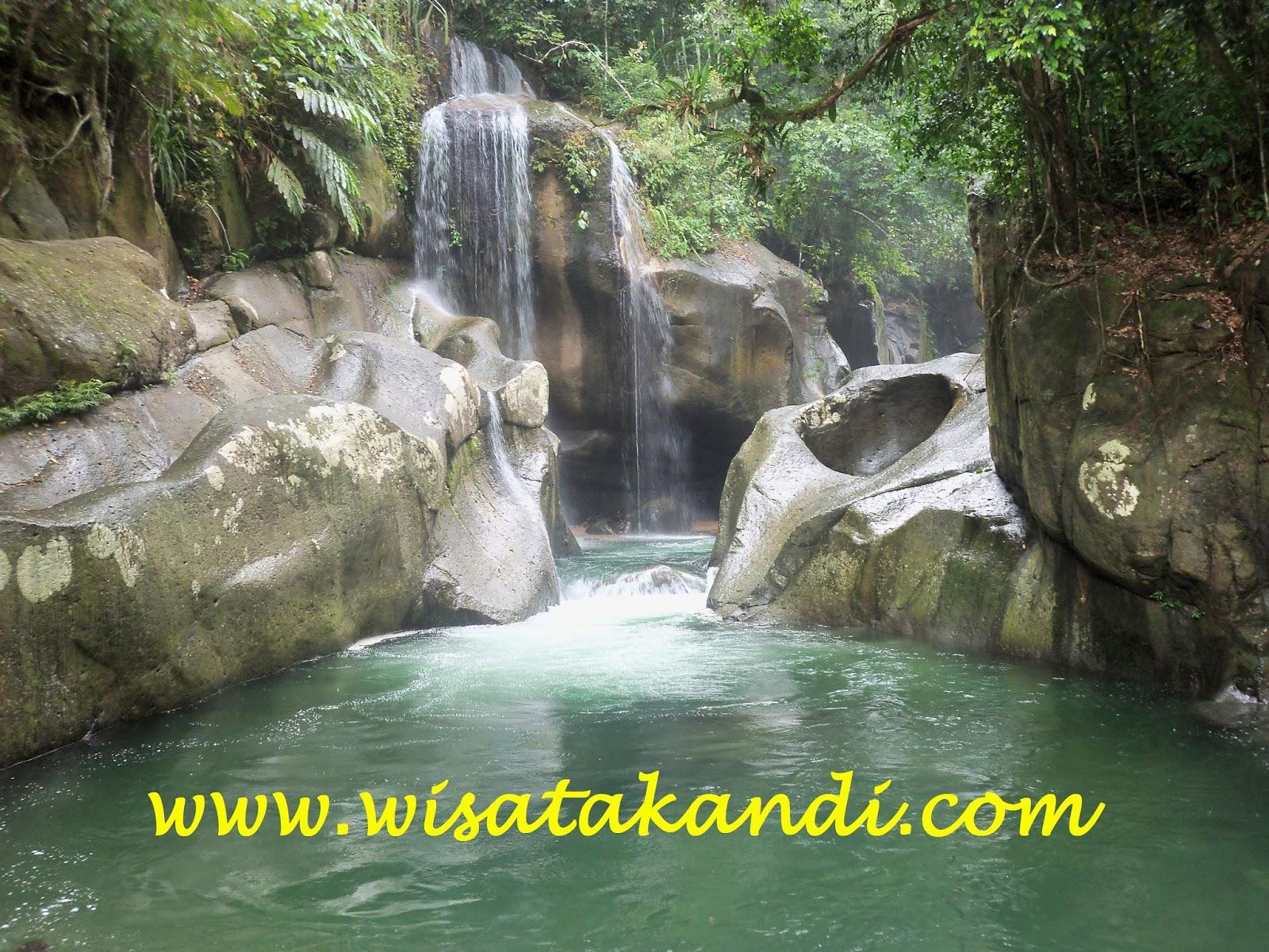 Air Terjun Nyarai Sumatera Barat Wisata Pulau Suwarnadwipa Dan Pagang Di Sumbar