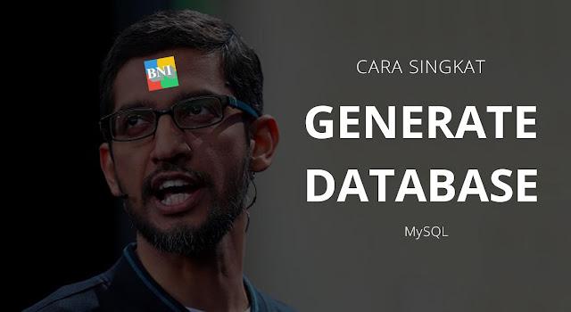 Cara Paling Cepat Membuat Database (MySQL)