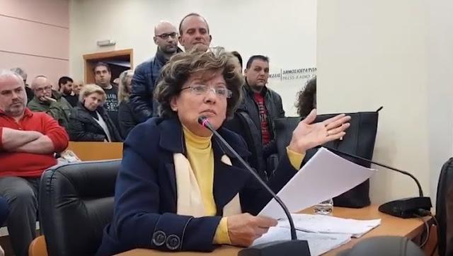 Αναφορά της Β. Σαλεσιώτη περί υιοθεσίας του νοσοκομείου από το δήμαρχο Ναυπλιέων Δ.Κωστούρο (βίντεο)