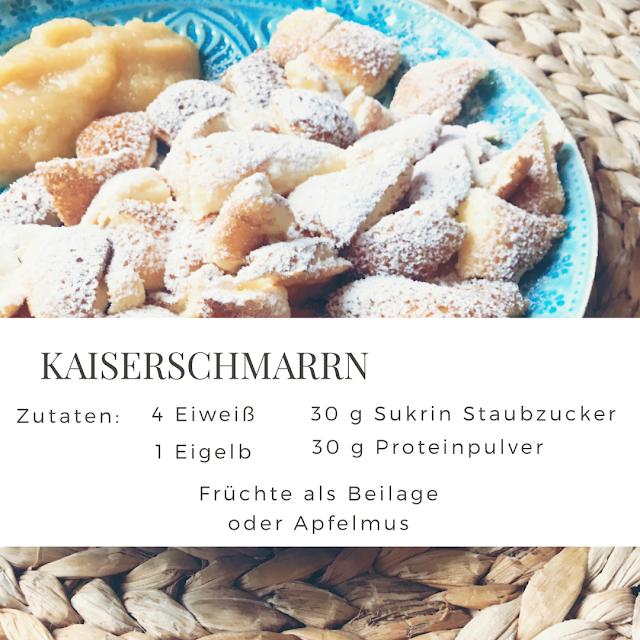 GrinseStern, Kaiserschmarrn, rezept, diy, selbermacher, tirol, lecker, lowcarb