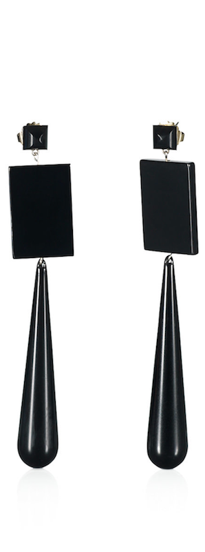 Large Square Drop Earrings