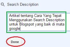 done search description blogspot