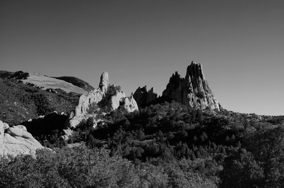 Garden of the Gods by Cyndi Calhoun Red Channel