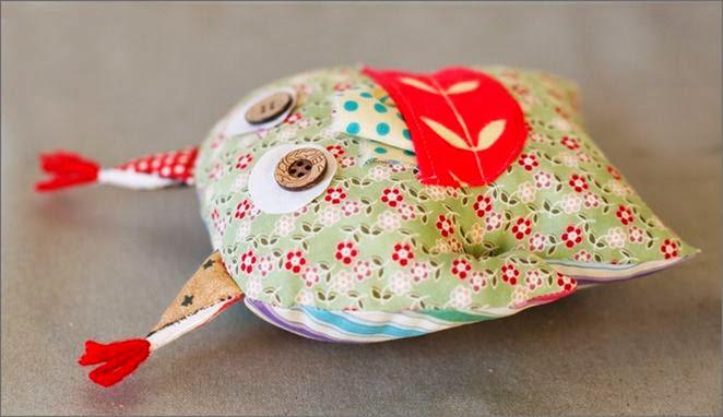 как сшить сову Pillow-owl DIY tutorial