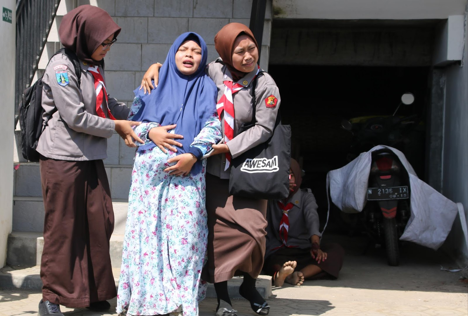LPBI NU Kabupaten  Malang Gelar Simulasi Penanggulangan Bencana