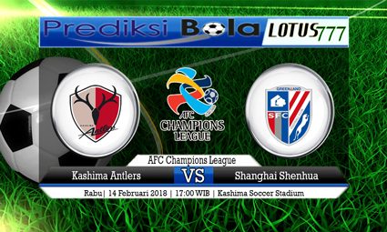 PREDIKSI  SKOR  Kashima Antlers vs Shanghai Shenhua  14 Februari 2018
