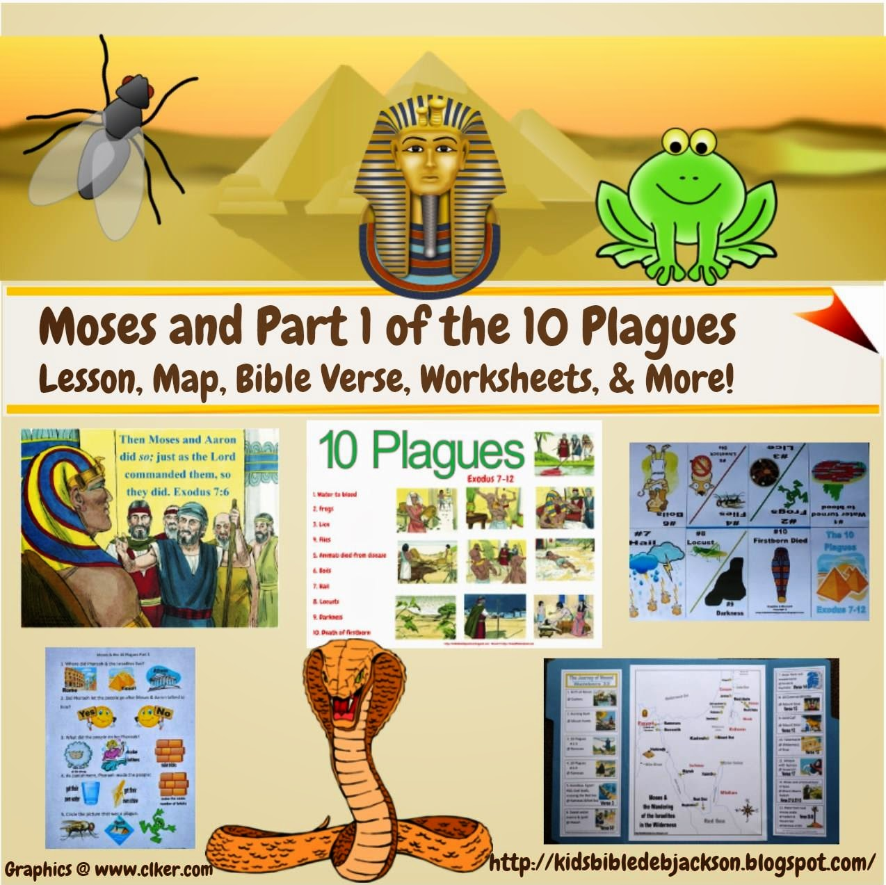 Bible Fun For Kids Moses Lesson List With Links
