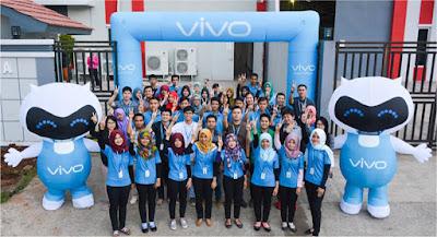 Lowongan Kerja Terbaru Min.SMA/SMK/D3/S1 PT Vivo Mobile Indonesia Membutuhkan Karyawan Baru Untuk Menempati 16 Posisi Seluruh Indonesia