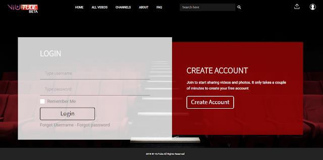 The VIUTube video sharing website in Sri Lanka