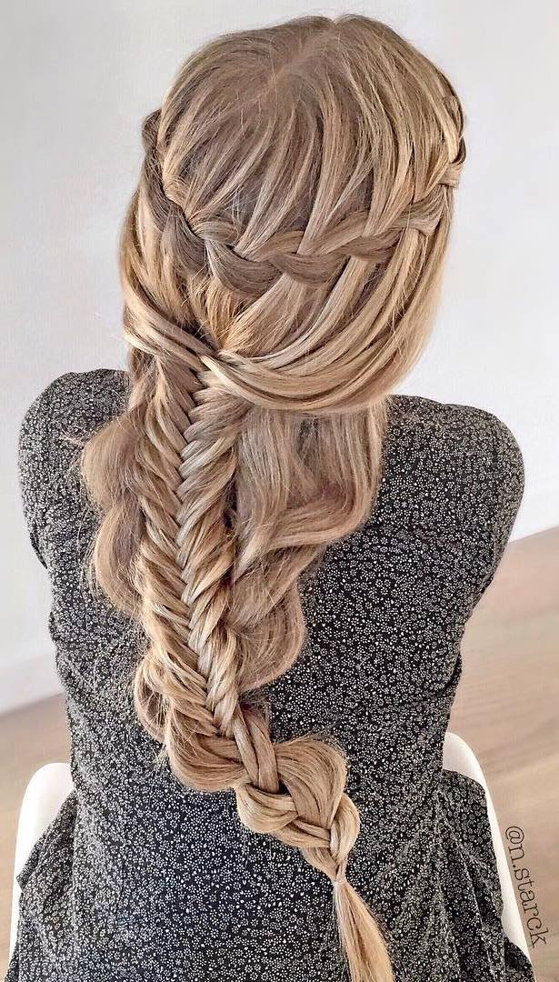 Waterfall Braid Combo