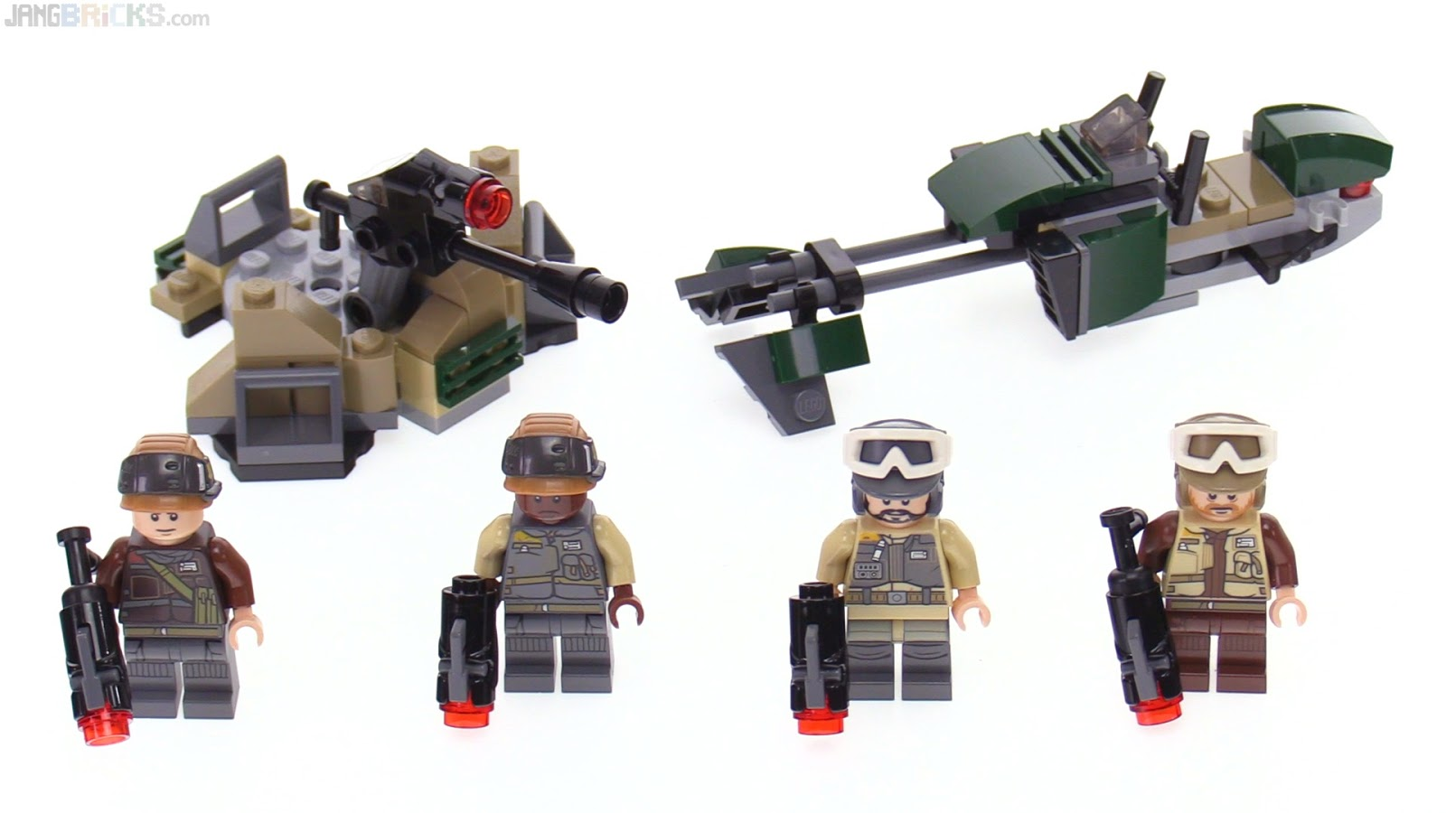 LEGO Star Wars Rogue One battle / troop pack reviews