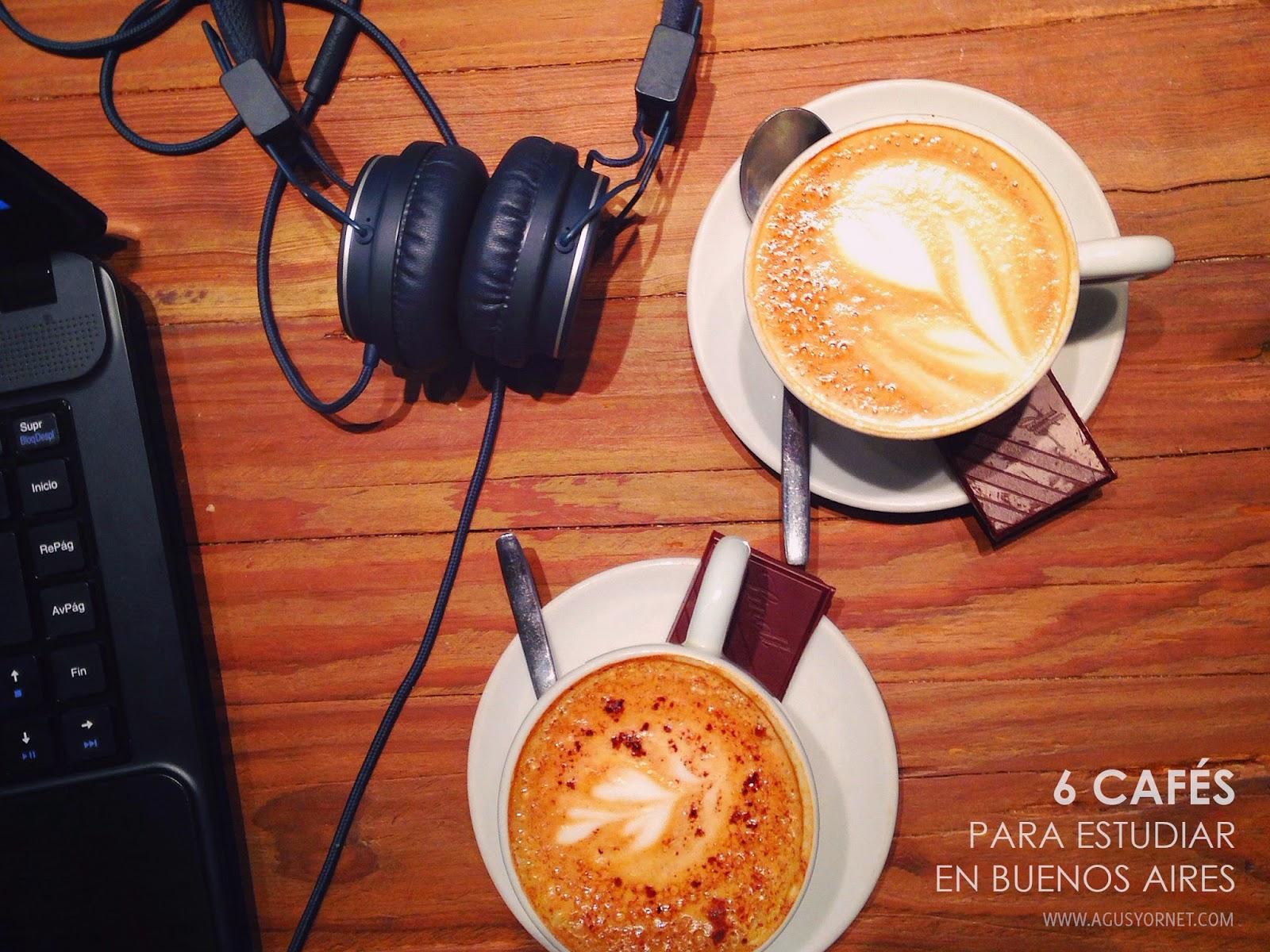 cafes para estudiar en buenos aires cafeterias