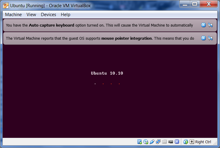 virtualbox screenshots ubuntu