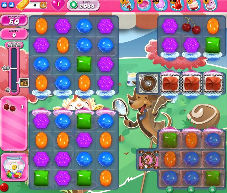 Candy Crush Saga level 2068