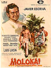 """Cartel de la película """"Molokai"""""""
