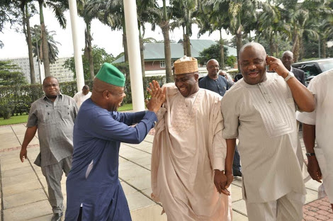 Tambuwal Visits Governor Wike In Rivers (Photos)