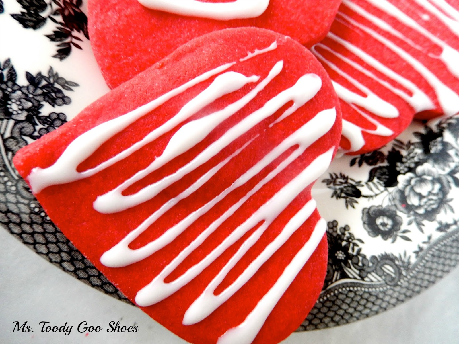 Shortbread Heart Cookies  -- Ms. Toody Goo Shoes