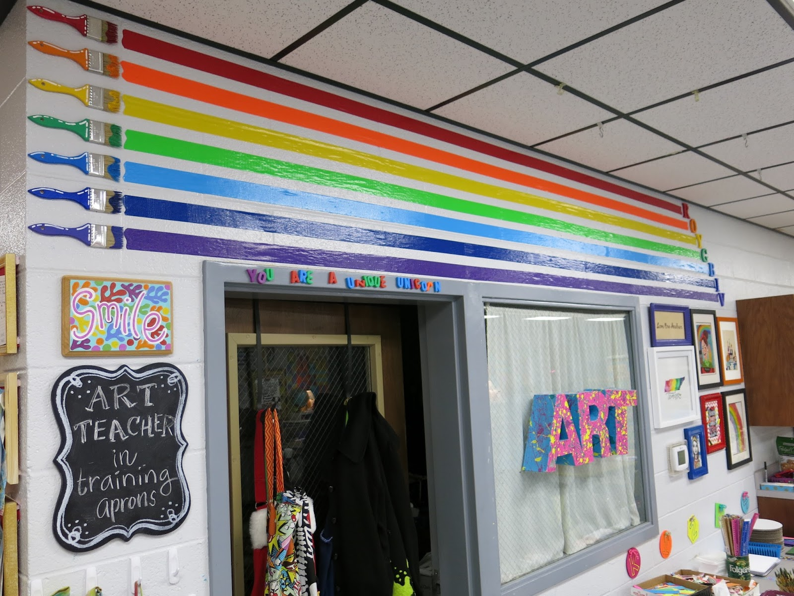 This Area Of My Art Room, I Call The Store As Thatu0027s Where The Kids Go To  Gather Their Art Supplies. You Can Learn More About Art Teachers In  Training Here ...