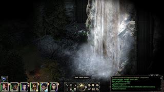 Pillars of Eternity Awesome Waterfall Screenshot