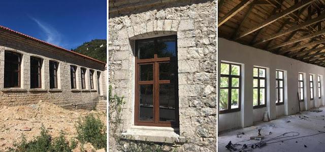 Ολοκληρώνεται το ορεινό καταφύγιο της Ελαταριάς