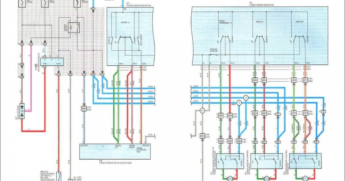 Avensis Corona 1997 Electrical Wiring Diagram   Owners and