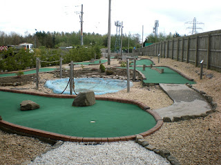 Adventure Golf Putting course at Noah's Ark Golf Centre in Perth