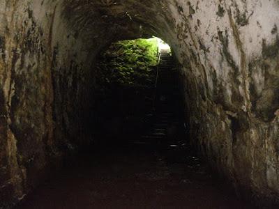Los Túneles, Lava Tubes