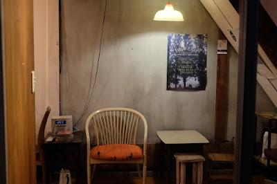 鳥取の喫茶・カフェ カルマ食堂(suncl)哀愁漂う椅子