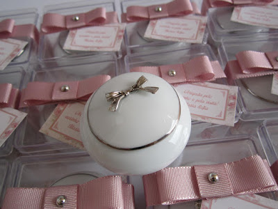 Lembrança de Porta joias de Porcelana, porcelana lembrancinha, porcelana pedreira, lembranca de maternidade
