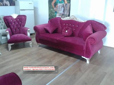 Furniture Duco Putih-Sofa Tamu Klasik Duco-Furniture Klasik Mewah