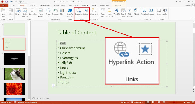 PowerPoint Links