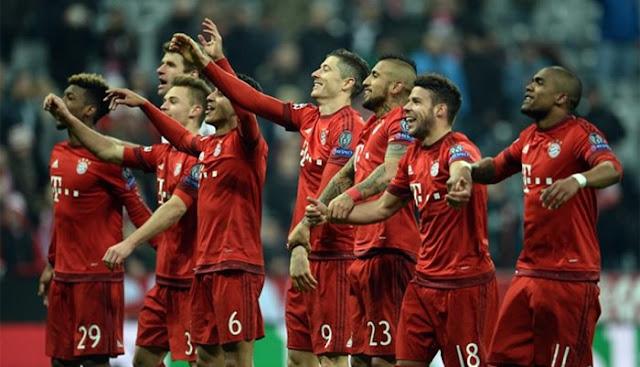 Prediksi Hasil Benfica vs Bayern 14 April 2016