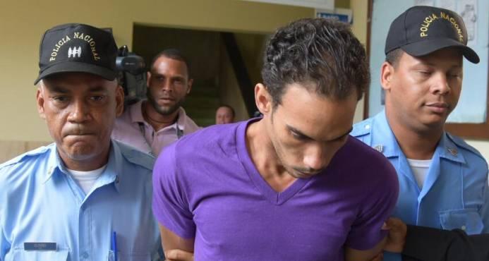 Víctor Alexander Portorreal sigue preso en el Palacio de Justicia