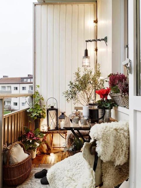 Textiles para terrazas de invierno