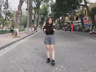 Gái xinh facebook hot girl Nguyễn Trần Linh Chi