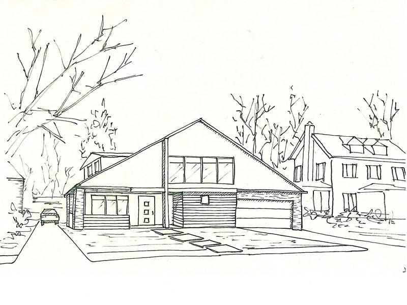 gambar perencanaan bangunan