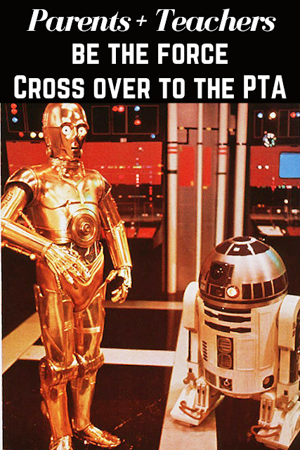 Be the force in your kids' school. Join the PTA