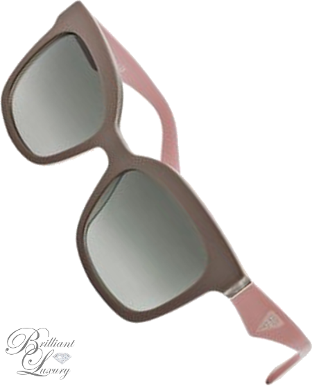 Brilliant Luxury ♦ Prada Square Sunglasses