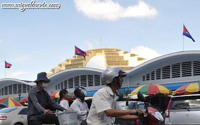 Central Market en Phnom Penh