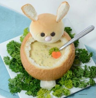 Bunny Bread Bowls