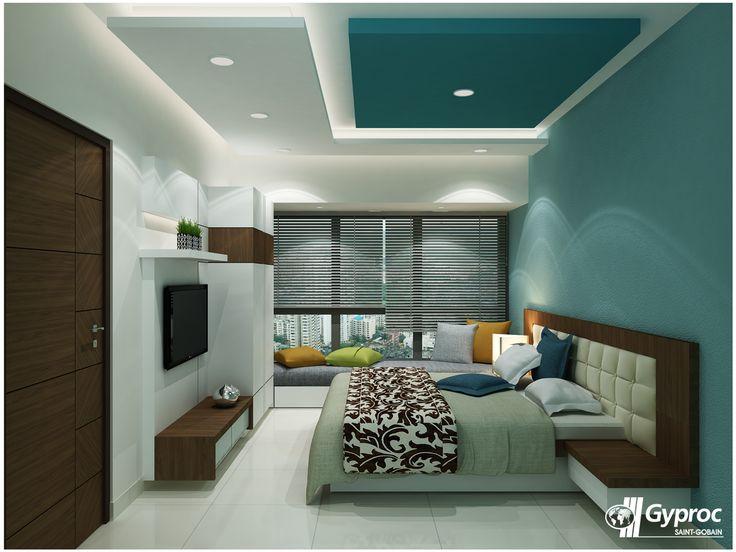 Contoh Gambar Plafon Gypsum Kamar Tidur  ide populer 21 plafon kamar mandi