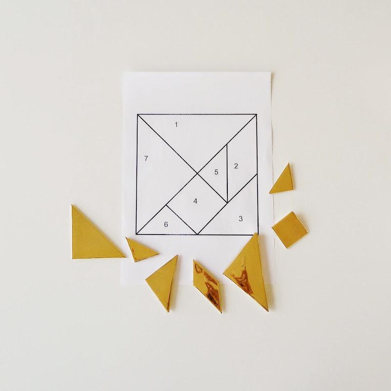 Magnetisches DIY-Tangram-Puzzle   26 DIY-Nachmach-Ideen und Rezepte für den Mai   https://mammilade.blogspot.de