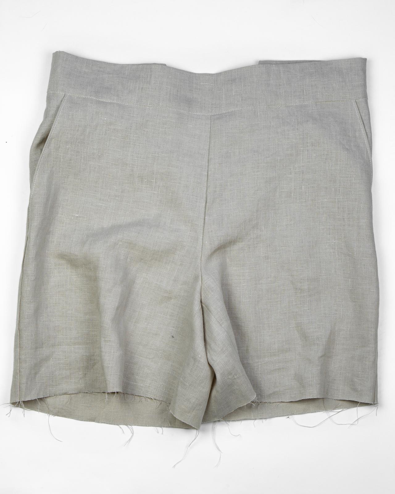 Я шью: Льняные шорты