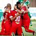 Na briga pela liderança, Potiguar de Mossoró vence Palmeira-RN por 2 a 0