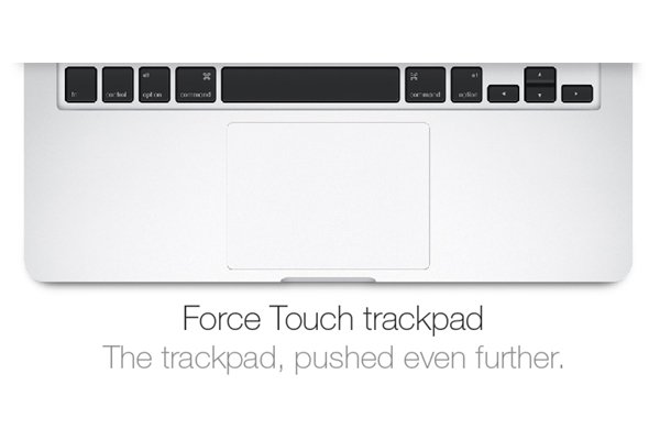MacBook Pro MFB40 Force Touch Trackpad