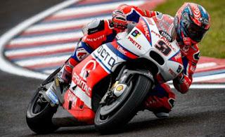 Petrucci Tercepat FP2 MotoGP Valencia, Rossi Ketiga