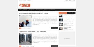 Vipi Blog Blogger Template